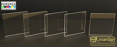 Clear Plastic PetG Cut Sheet - Cut Panel