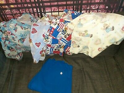 Lot large of Raggady Ann & Andy, Scooby, Captain America Scrubs