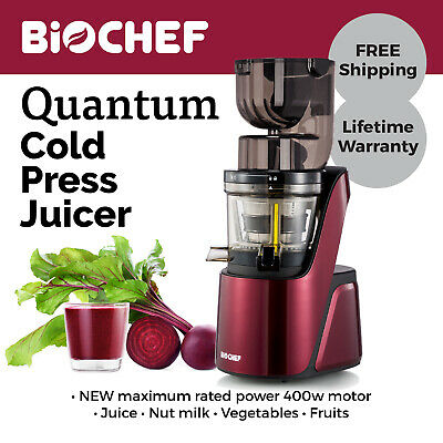 OMEGA MMV702S MEGA Mouth Slow Juicer With Accessories in