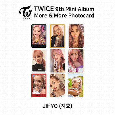 TWICE 9th Mini Album More And More Official