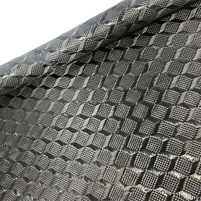 3K 240G Cube Weave Carbon fiber Cloth Carbon cloth For Car interior 50*100cm
