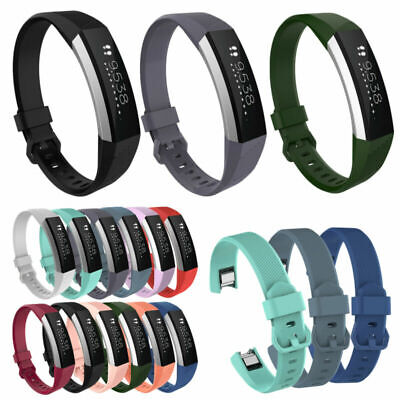 Sports Silicone Replacement Wrist Band Buckle Strap Bracelet For Fitbit Alta HR