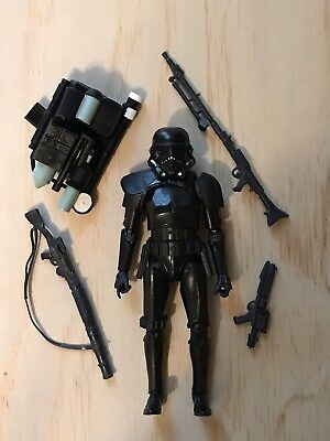 2007 Hasbro Star Wars TAC Walmart Exclusive Imperial Shadow Stormtrooper w//Stand
