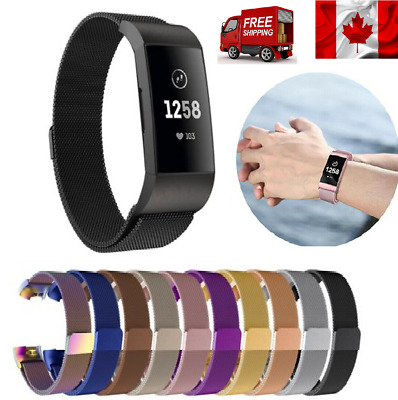Replacement Milanese Band Metal For Fitbit Charge For Fitbit Charge 3 Watch Band