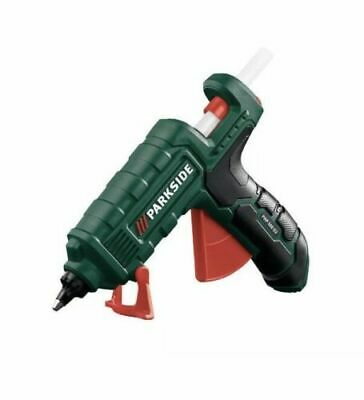 PARKSIDE HOT GLUE GUN PHP 500 E3POWER CABLE CORDLESS AFTER HEATING IN STATION