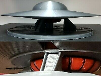 C-57D Flying Saucer//UFO - LARGE On ET surface from Forbidden Planet