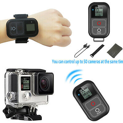 SHOOT Wireless Remote Control Waterproof for GoPro Hero 8/7/6/5/Session/4/3+/3
