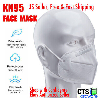 40Pcs INUAN 5-Layer KN95 Protective Face Mask Disposable Mouth Cover