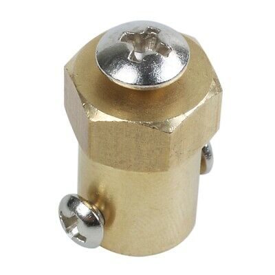 6mm Shaft Dia DC Geared Motor to Robot Small Car Wheels Hex Coupler Y1U7