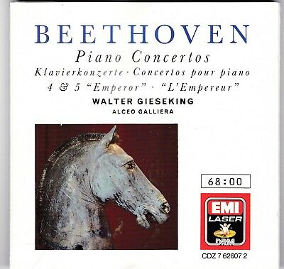 BEETHOVEN - THE Five Piano Concertos / Badura-Skoda 3 CD-Box - EUR 15,00 |  PicClick DE