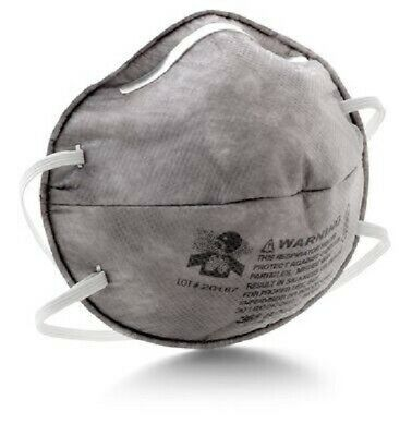 1 Box of 20 Each 3M 8247 R95 Particulate Respirator (See listing and pictures)