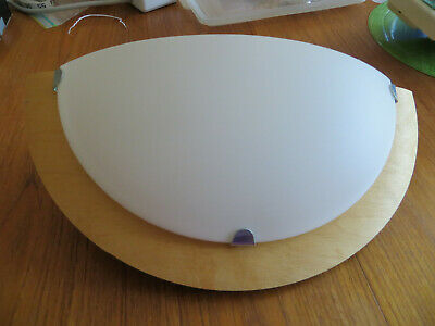 IKEA Tolvan Wall mounted lamp with on/off switch, birch