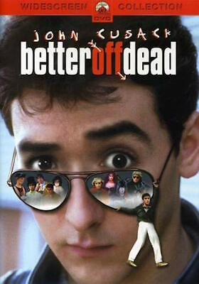 Better Off Dead Dvd - Single Disc Edition - New Unopened - John Cusack