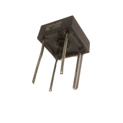 KBPC1010 / GBPC1010 Single-Phase Glass Passivated Bridge Rectifier, 10A 1000V