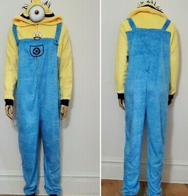 MINIONS Despicable Me UNION SUIT Costume WOMEN/'S Size XL 2X 3X NEW W//TAG