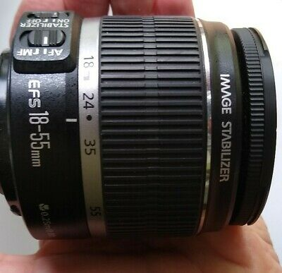 Canon Zoom EF-S 18-55mm 1:3.5-5.6 IS Image Stabilizer Lens