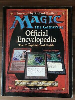 Magic The Gathering - Official Encyclopedia 1996 - The Complete Card Guide
