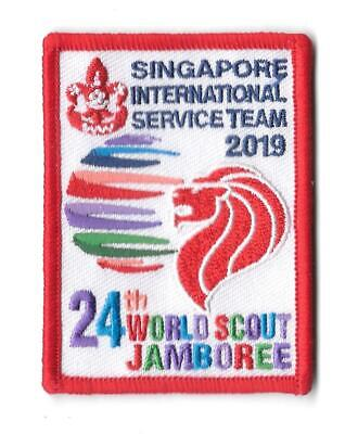 2019 World Scout Jamboree Official Drop Off Pick Up Vehicle Mirror Tag