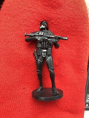 Disney Authentic SERGEANT JYN ERSO FIGURINE Cake TOPPER STAR WARS ROGUE ONE NEW