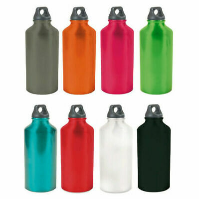 Botella Sport Acampada Bicicleta de Aluminio ECO-FRIENDLY Capacidad 500ML