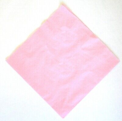 Pink 3 ply Dinner napkins 40cm.  50 in pack Wedding, birthday, party Swantex