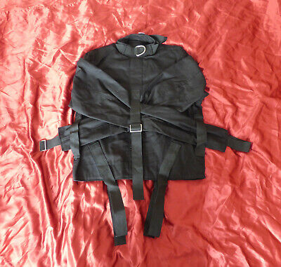 Straight jacket Red half costume party escapology suit Leather quality item