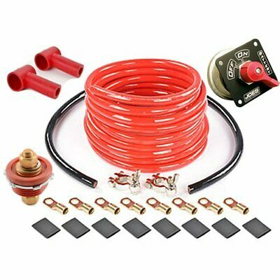 JOES Racing Products 46200K Battery Disconnect Kit Includes Battery Disconnect T