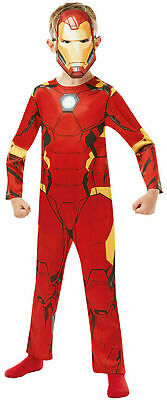 Official Avengers End Game Iron Man Costume - Marvel Fancy Dress For Book Week