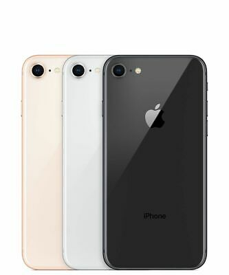Apple Iphone 8 64/256GB GSM/CDMA A1863 Unlocked Space gray Gold Silver  A1905 4G