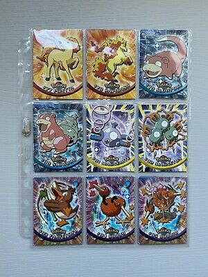 Topps Pokemon Series 2 Trading cards - Full Complete Main Set (1st Edition Blue)
