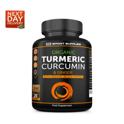 High Strength Turmeric Capsules With Black Pepper And Ginger 1380 Mg X 120 Caps