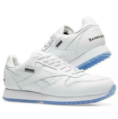 Reebok Classic Leather MU EG6420 Mens White Lace Up Low Top