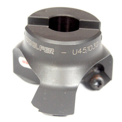 """DELFER Indexable Insert Drill 1-1//16/"""" x 1-1//4/"""" Shank 2FL UED27100"""