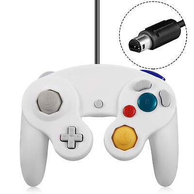 Wired NGC Controller Compatible Gamecube Wii Wii U Switch Video Game Console US