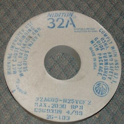 16 X 3 X 5 Type 1 Surface/Cylindrical Grinding Wheel 32A605H25Vcf2  (W2-Stack-1)
