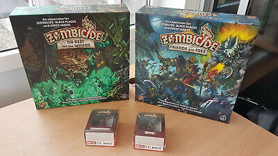 Zombicide Green Horde No Rest Wicked Spectral Walkers x18 Minis and Spawn Cards