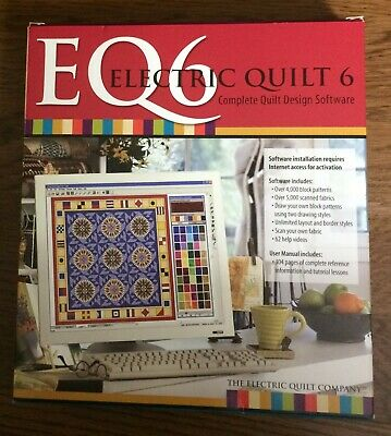 New Electric Quilt 7 Upgrade Pc Windows Complete Quilt Design Software 105 00 Picclick
