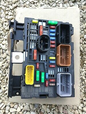 PSA Genuine Under Bonnet Fuse Box Fits Citroen Dispatch Peugeot Expert