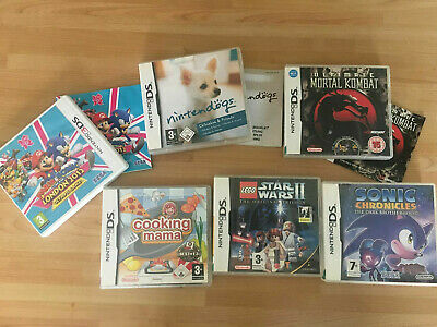 Original Empty Game Box/Cases Only  Bundle Nintendo DS 3DS  No Game Carts