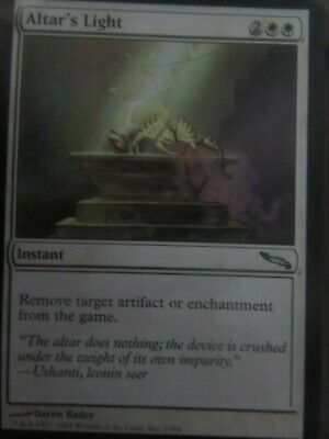 Mirrodin Magic The Gathering Complete set 306 cards Mint condition 2003