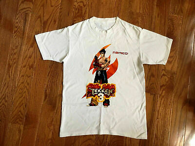 Vintage 1996 Tekken 3 Mens T Shirt Xl Single Stitch Video Game