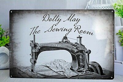 Sewing Room Plaque Humour Craft Needlepoint Hobby Sewing Machine Sign Mum Nan/'s