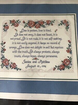 """5/""""x7/"""" New Dimensions Stamped Cross Stitch Kit #6635  Lacy Roses"""