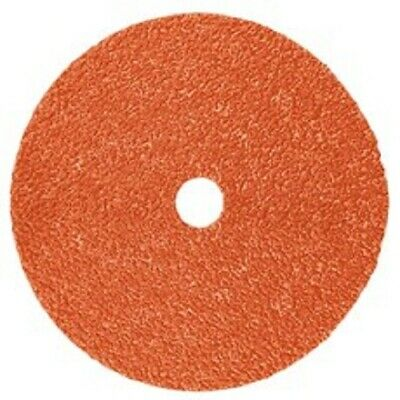 """Abrasive Disc 25//Pack New /& Factory Sealed 3M 782C Fibre Disc 5/"""" in x 7//8/"""" 80"""