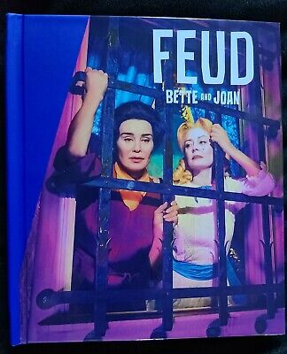 FX FYC FEUD: BETTE AND JOAN Complete Series (3 DVD Set) + PRESS BOOK Rare Promo!