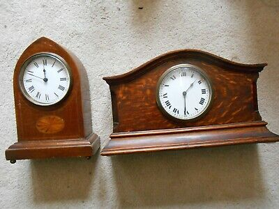 Mantle Clock with Platform Escapement. Running fine + another clock for parts.