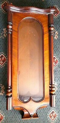 Large Mahogany Vienna Wall Clock Case For Restoration