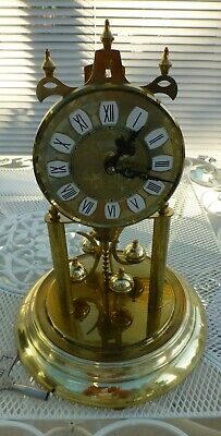 S.Haller 400 day Horolover Anniversary clock c1960  serviced and fully working