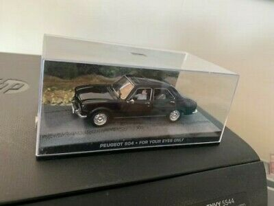 1:43 car car dy083 Peugeot 504 james bond 007 just for your eyes