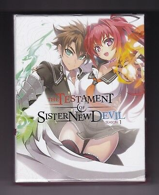 Testament of Sister New Devil Season 1 Limited Ed. (BD/DVD, 2017, 4-Disc Set)